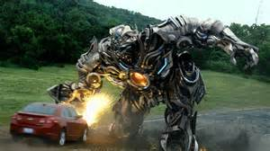 Galvatron Attacking Innocent person