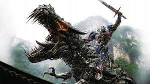 Optimus Prime and the Metal Dinosaur